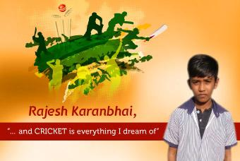 Rajesh Karanbhai, the next 'M.S. DHONI' in the Making